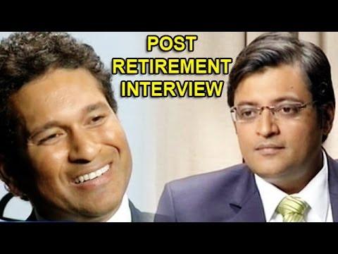 Write an interview with sachin tendulkar videos