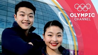 Olympic Ice Dancers, Siblings and YouTubers. Meet the Shibutanis | Gold Medal Entourage
