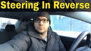 Steering In Reverse-Beginner Driving Lesson
