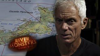 Volcanic Island Terror - River Monsters
