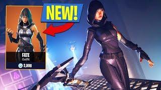 Fortnite Legendary Fate Skin! (Fortnite Battle Royale)