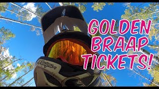 Monarch Pass to Green's Creek  |  It rained golden braap tickets!