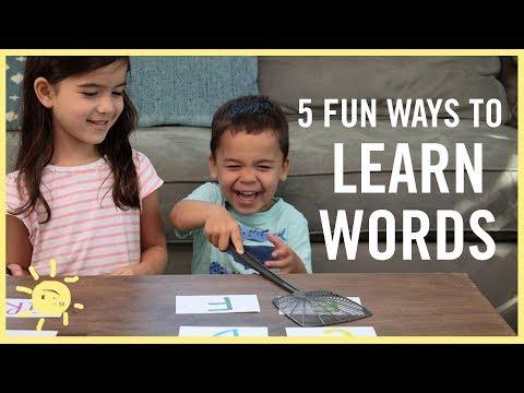 PLAY | Fun Ways to Learn Words!! (Reading/ Writing)