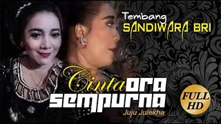 Lagu Sandiwara BRI 2018 - CINTA ORA SEMPURNA