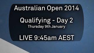 Day 2 Qualifying - Australian Open 2014