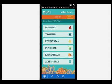 Cara Bayar Speedy via Bni Mobile Banking