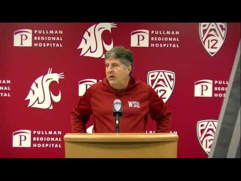 WSU Football: Mike Leach Press Conference 11/11/19