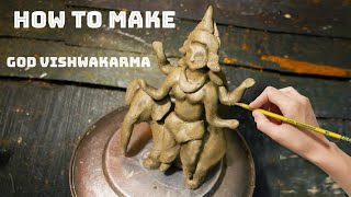 how to make god vishwakarma | Biswakarma Pratima | VISHWAKARMA PUJA 2020 | #vishwakarma  IMAGES, GIF, ANIMATED GIF, WALLPAPER, STICKER FOR WHATSAPP & FACEBOOK