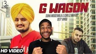 (PUNJABI) Sidhu Moose Wala - G Wagon Ft. Gurlez Akhtar , Deep Jandu   American Reacts