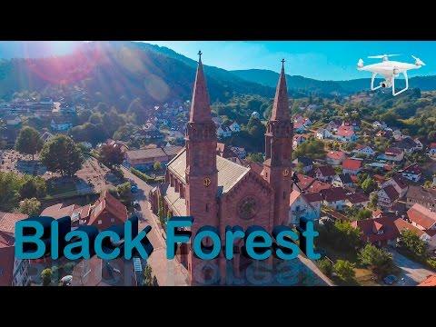 צפו בנופי היער השחור ומפלי הריין בסרטון רחפן שחושף טבע מרהיב