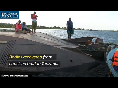 Bodies recovered from capsized boat in Tanzania