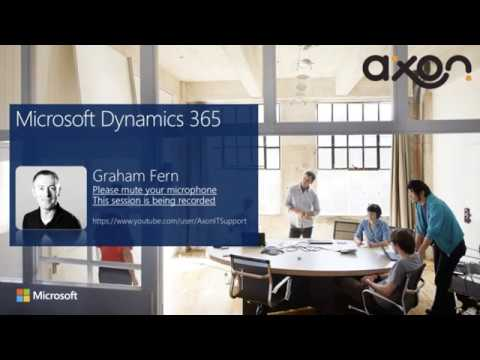 An overview of Dynamics 365 CRM
