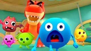 5兄弟の大冒険 | 恐竜が来た!早く逃げよう! | キャンデーの大冒険&人気童謡まとめ 連続再生 | 赤ちゃんが喜ぶ歌 | 子供の歌 | 童謡|アニメ|動画 | BabyBus