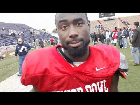 Chris Rainey 1/24/2012 Senior Bowl Interview
