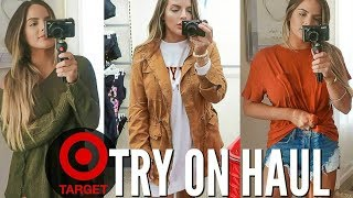 SHOP WITH ME AT TARGET! WHATS NEW FOR FALL? | Casey Holmes