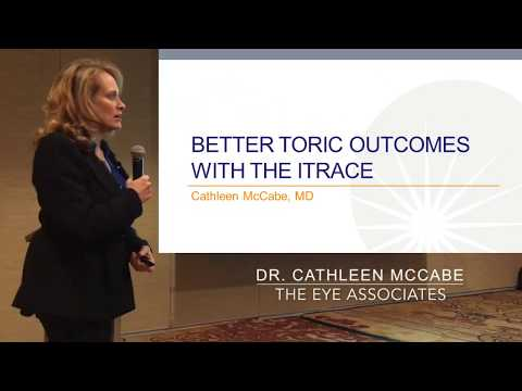 ASCRS 18 (2) - Dr. McCabe at the iTrace Users Meeting