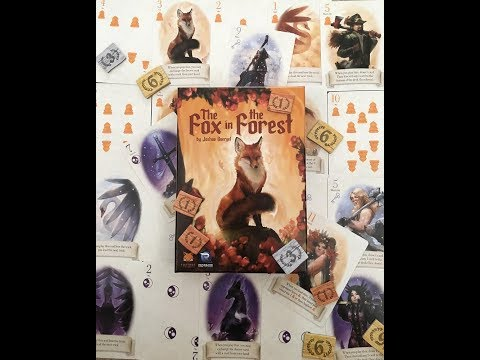 The Fox and the Forest board game Trick Taking at its finest
