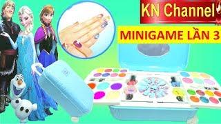 KN Channel MINIGAME LẦN 3 | CHƠI THỬ ĐỒ CHƠI 7 GIẢI THƯỞNG | ĐỒ CHƠI TRANG ĐIỂM LÀM MÓNG TAY