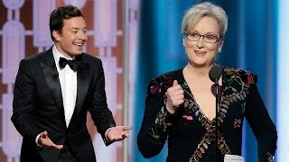 Hollywood Takes Down Donald Trump At Golden Globes