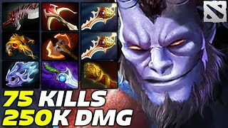 RIKI 75 KILLS 250k Damage Epic Game Dota 2