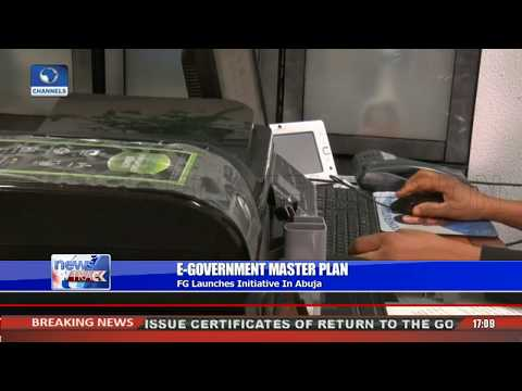 FG Launches e-Government Master Plan