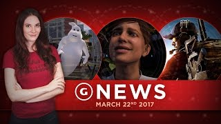 Mass Effect Andromeda Update & Ghostbusters PlayStation VR Game! - GS Daily News
