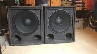 Sie sind zurück!/Neuer Top PA Lautsprecher für wenig Geld?!/Master Audio LSN18-8 Test