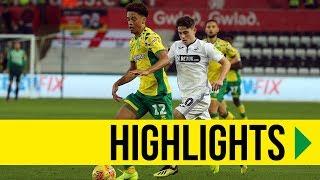HIGHLIGHTS: Swansea City 1-4 Norwich City