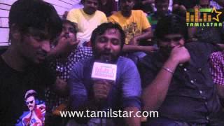 Bobby Simha celebrates Rajini's Birthday and Lingaa Release