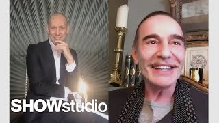John Galliano In Conversation With Nick Knight On The Future Of Fashion