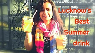 Lucknow's best Summer Drink : Soda Shikanji #summerspecial #lucknowfood