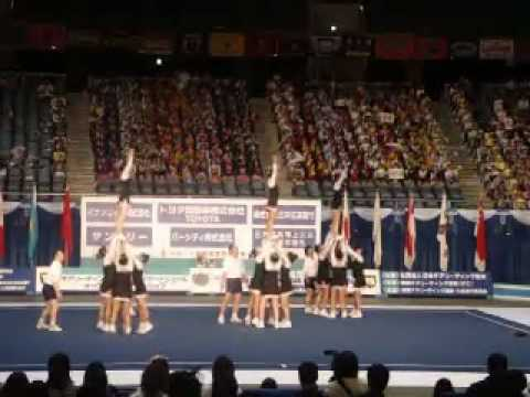 Gazelles Cheerleading @ CAIOC 2010 Japan.mp4