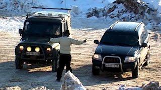 Царь горы. УАЗ Хантер, Патриот или Jeep Grand Cherokee?