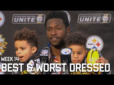 5 Best and Worst Dressed Players of Week 14 😎 | NFL's Best | Fashion Po-Po 🚨🚔