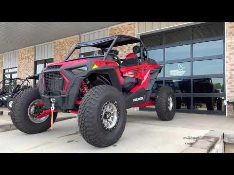 2020 Polaris RZR XP Turbo in Marshall, Texas - Video 1