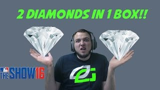 2 DIAMONDS IN 1 BOX!! PACK OPENING! - MLB The Show 16