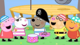 Peppa Pig Official Channel   Peppa Pig's Halloween Pirate Treasure Hunt