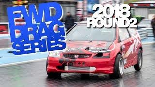 Round 4 2018 FWD Drag Series - USC - SantaPodTV