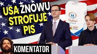 USA Żąda od PIS Wycofania Kolejnego Podatku w Polsce bo Szkodzi Ameryce