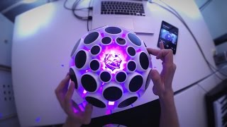 AlphaSphere - Performance by Jason Hou