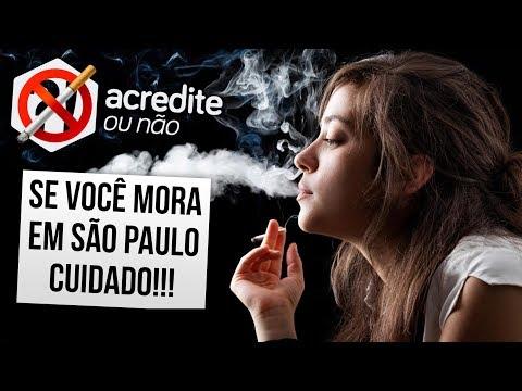 RESPIRAR EM SÃO PAULO POR 2 HORAS É IGUAL A FUMAR UM CIGARRO