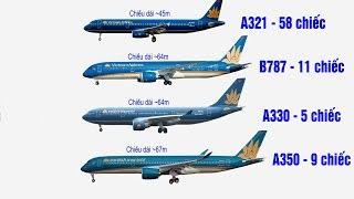 Phân biệt máy bay Vietnam Airlines và Vietjet Air
