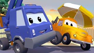 Odtahové auto pro děti - Vysokozdvihák Charlie Maluje a Roztopí se mu Rameno!