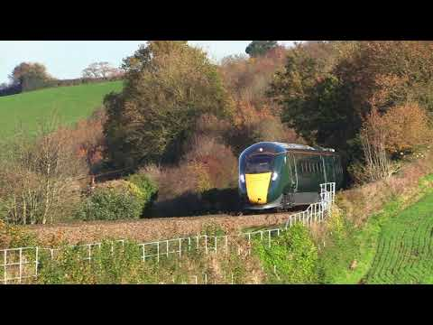 GWR 802002 works Stoke Gifford to Penzance passing Stoneycom…