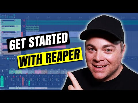 How To Use Reaper DAW Tutorial for Beginners on Windows 10