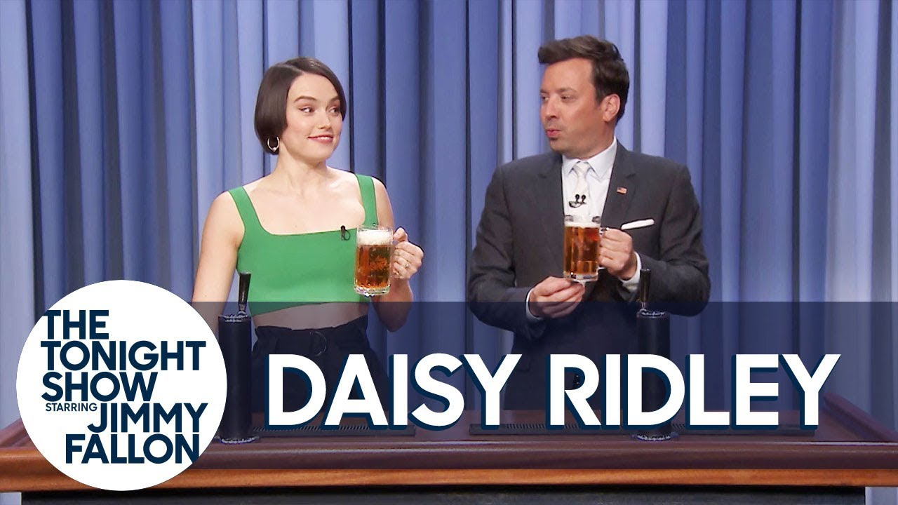 Daisy Ridley Teaches Jimmy How to Pour a Perfect Pint thumbnail
