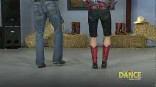 Country Line Dance - Tush Push (the Fireman) Learn to Line Dance