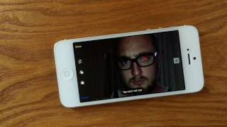 How to Remove Red Eye on iPhone Photos
