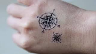 Top 50 Best Compass Tattoos