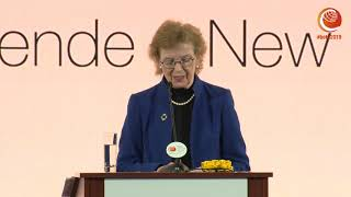 Mary Robinson, Chair of the Elders - Keynote at #betd2019 - Berlin Energy Transition Dialogue 2019